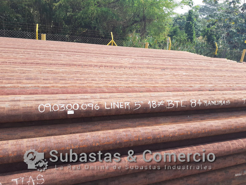 SYC09719-4 TUBERIA LINER DE 5IN APROX. 4.246 FT
